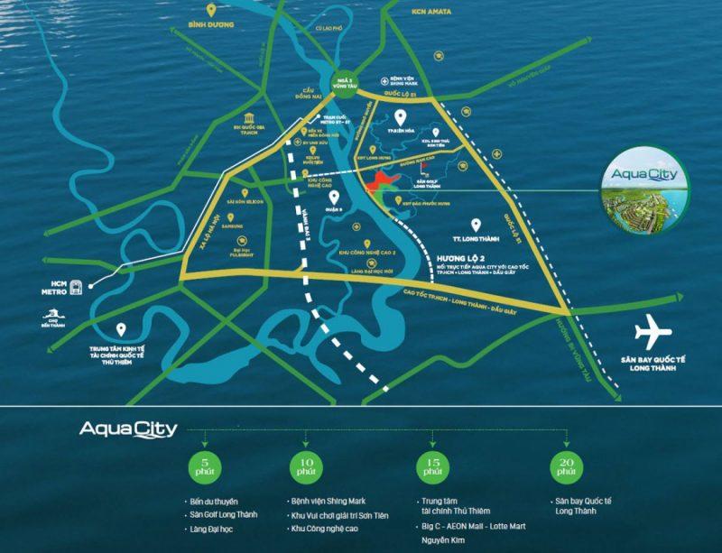 Aqua City Novaland là khu đô thị sinh thái phía đông Sài Gòn