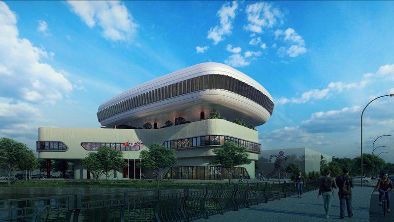 Aqua Sports Complex Aqua City