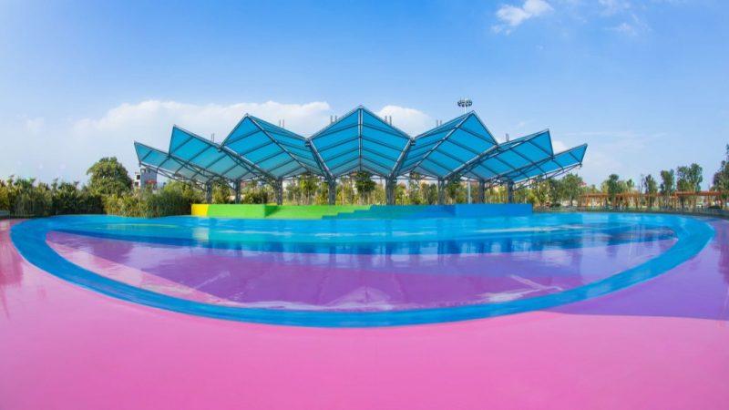 Công viên Patin/Skateboard Vinhomes Smart City
