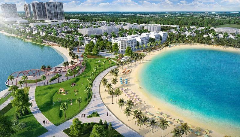 Cong vien bien ho - Vinhomes Grand Park Quận 9   Tiến Độ & Giá Bán Mới Nhất 2021