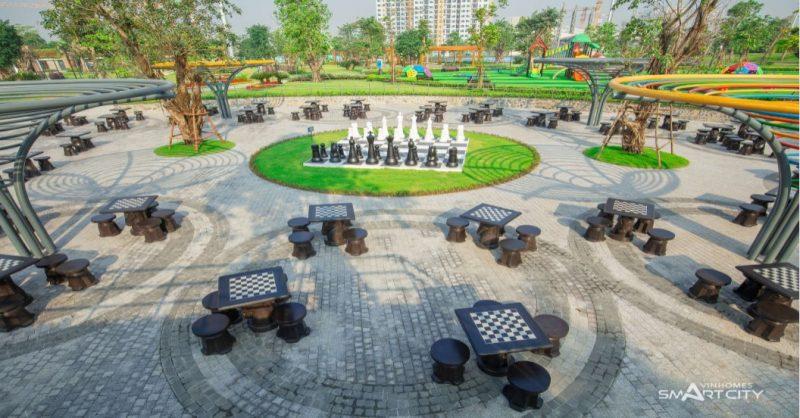 Công viên cờ vua Smart City Vinhomes