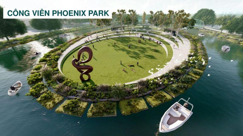 Cong vien tai phan khu Phoenix South Aqua City - AQUA CITY