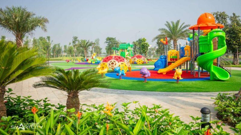 Công viên vui chơi cho trẻ em và vận động liên hoàn Vinhomes Smart City
