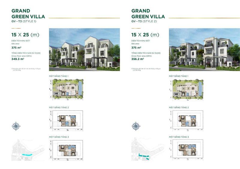 Grand Green Villa Style 1 - AQUA CITY