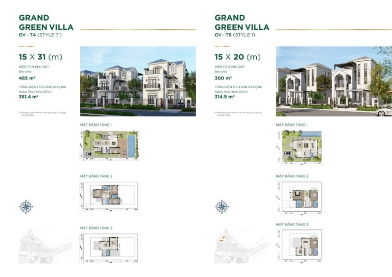 Grand Green Villa Style 7 - AQUA CITY