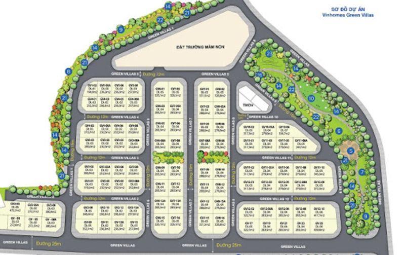 Khu biet thu sinh thai cua Vinhomes Smart City co ten goi Vinhomes Green Villas - VINHOMES SMART CITY