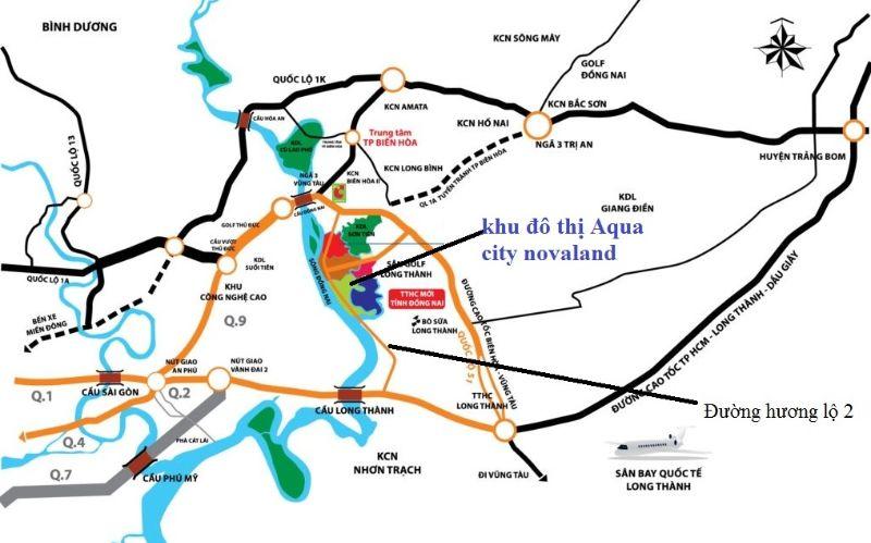 Khu do thi Aqua City Bien Hoa Dong Nai so huu vi tri dep hiem co 1 - AQUA CITY
