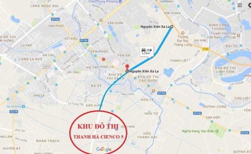 Khu do thi Thanh Ha Muong Thanh nam tren dia ban phuong Kien Hung Ha Dong - KHU ĐÔ THỊ THANH HÀ