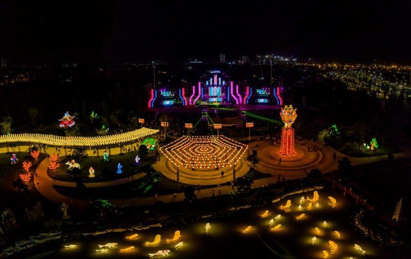 Khu vườn Nhật Bản Vinhomes Smart City tổ chức nhiều sự kiện