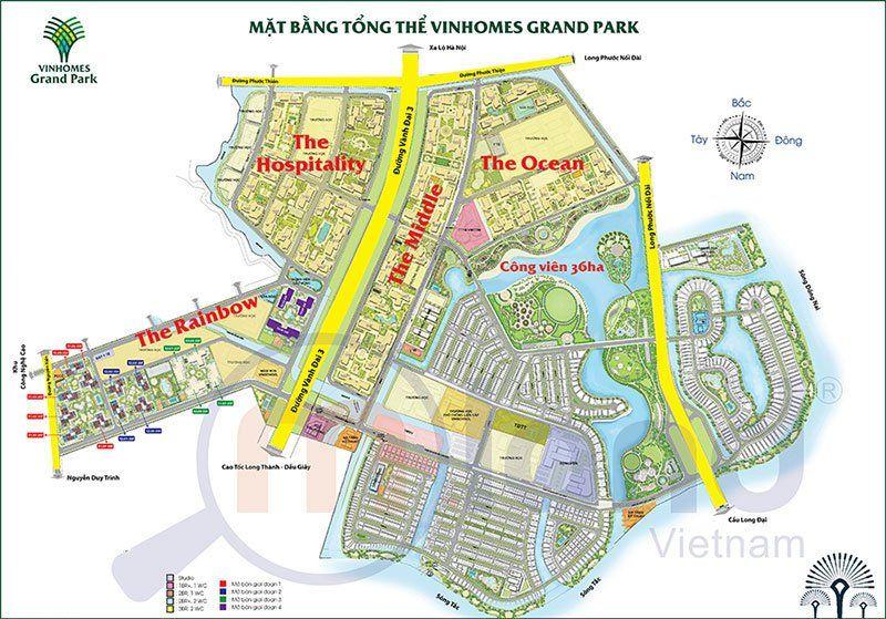 Mat bang tong the khu do thi Vinhomes Grand Park 1 - VINHOMES GRAND PARK