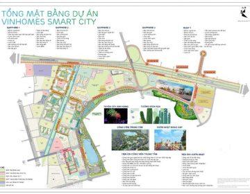 Mat bang tong the toan bo du an Smart City Vinhomes 1 360x280 - Vinhomes Smart City Tây Mỗ | Bảng Giá & Vị Trí Tiến Độ Metrolines 2021