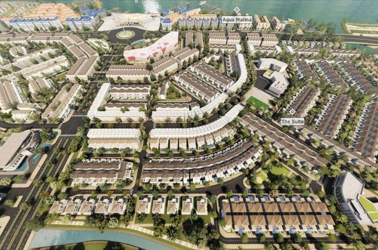 Phân khu The Suite còn gọi là Aqua City Sun Harbor 2