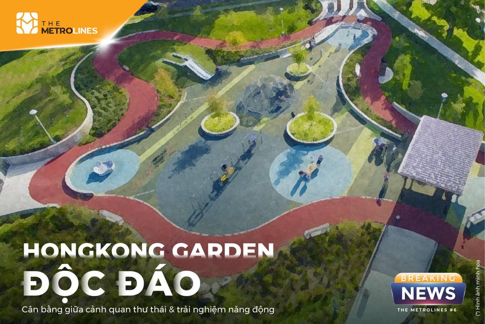 Phân khu Victoria mang đậm phong cách Hồng Kông