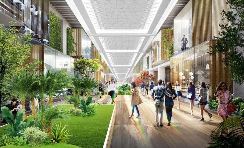 Sky Ecopark duoc thiet ke dot pha theo phong cach Han - SKY OASIS ECOPARK