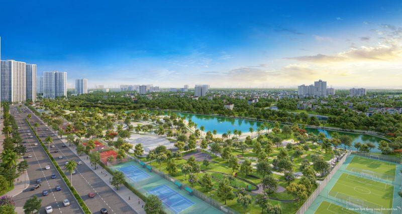 Tổ hợp sân chơi thể thao Smart City Vinhomes