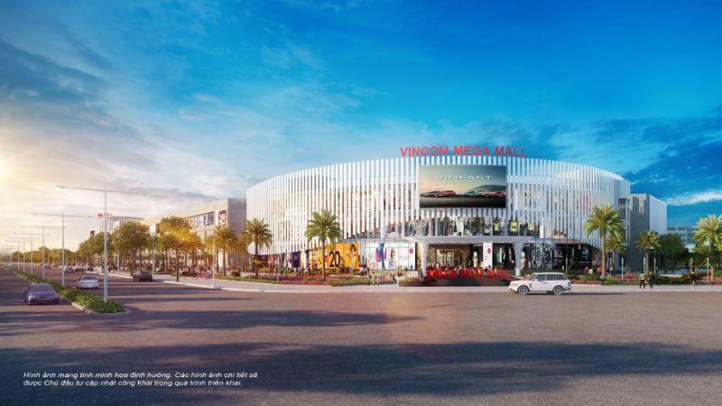 Trung tam thuong mai Vincom trong khu do thi Vinhomes Smart City - Vinhomes Smart City Tây Mỗ | Bảng Giá & Vị Trí Tiến Độ Metrolines 2021