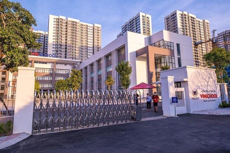 Truong tieu hoc Vinschool Vinhomes Smart City - Vinhomes Smart City Tây Mỗ | Bảng Giá & Vị Trí Tiến Độ Metrolines 2021