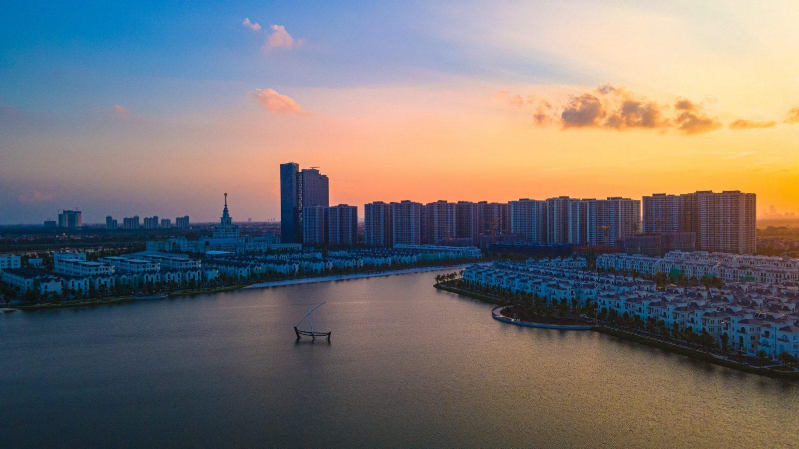 Vinhome Gia Lâm là một kỳ quan phía đông thành phố Hà Nội