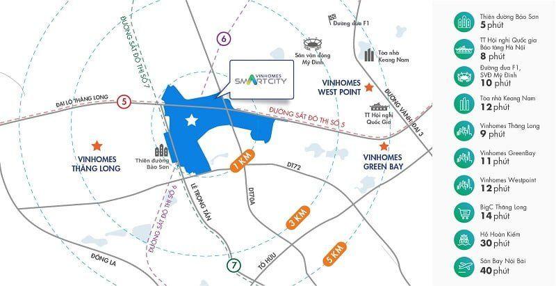 Vinhomes Smart City co tien ich ngoai khu vo cung thuan tien - Vinhomes Smart City Tây Mỗ | Bảng Giá & Vị Trí Tiến Độ Metrolines 2021