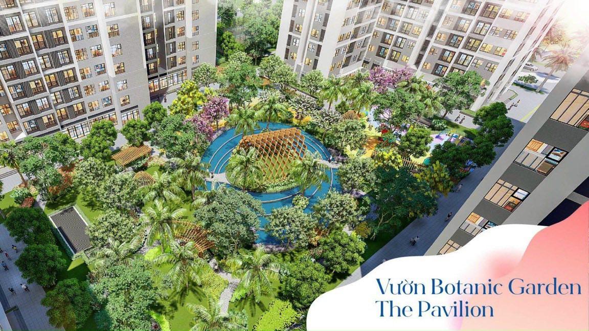 Vườn Botanic Garden The Pavilion
