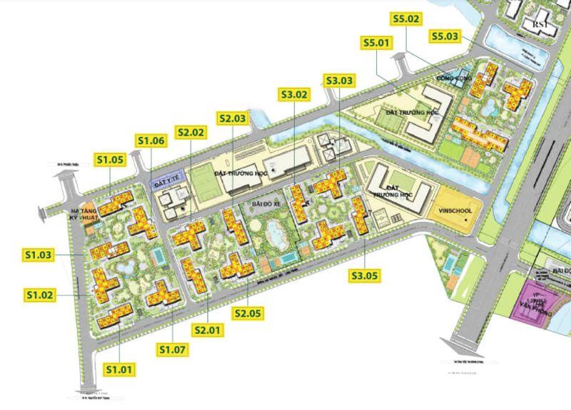 mat bang The Rainbow Vinhomes Grand Park - Vinhomes Grand Park Quận 9   Tiến Độ & Giá Bán Mới Nhất 2021