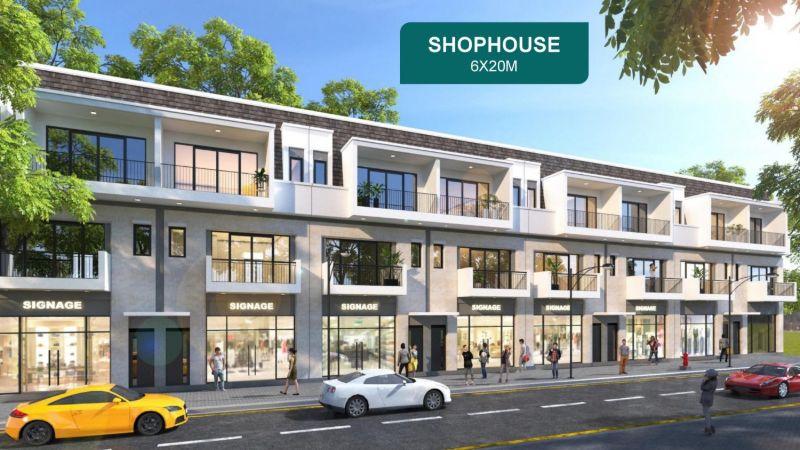 shophouse - AQUA CITY