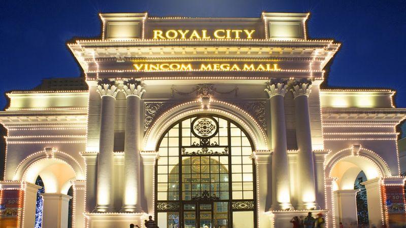 Cac cong trinh tien ich du an Royal City duoc thiet ke mang phong cach Chau Au voi ve dep trang le - ROYAL CITY VINCOM MEGA MALL