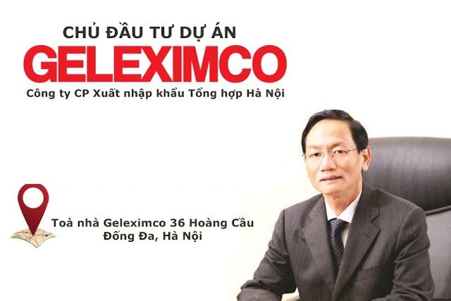 Chu dau tu du an chinh la Geleximco Ong lon trong linh vuc bat dong san - GELEXIMCO GIẢI PHÓNG