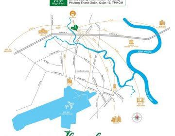 Chung cu Picity High Park nam tren duong Thanh Xuan 13 phuong Thanh Xuan quan 12 360x280 - PICITY HIGH PARK