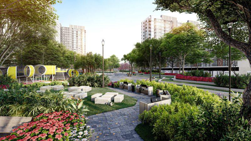 Công viên nội khu Picity High Park rộng đến 3 ha