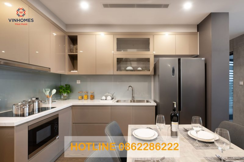 Gian bếp Vinhomes West Point