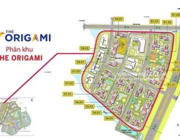 Mat Bang Phan Khu The Origami 360x280 - Vinhomes Grand Park Quận 9   Tiến Độ & Giá Bán Mới Nhất 2021