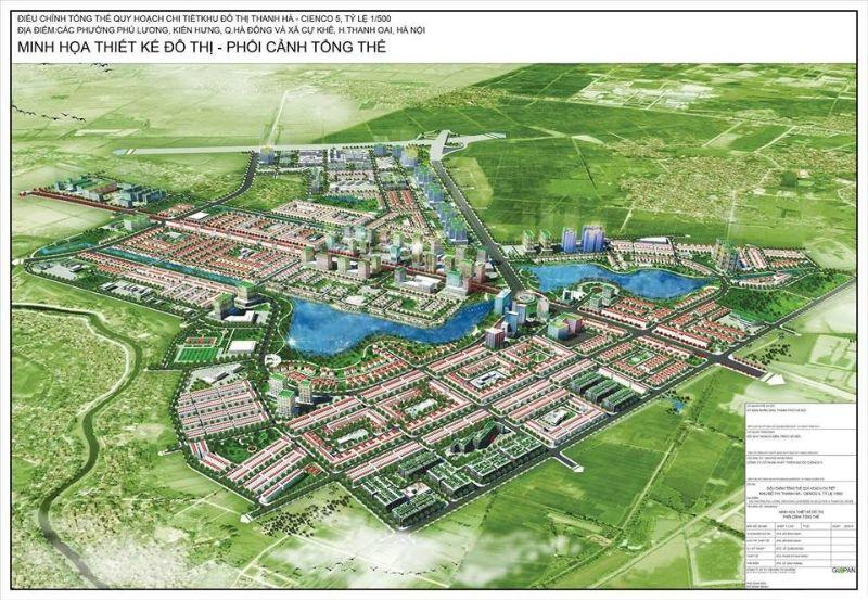 Mat bang du an lien ke Thanh Ha Cienco 5 - LIỀN KỀ THANH HÀ