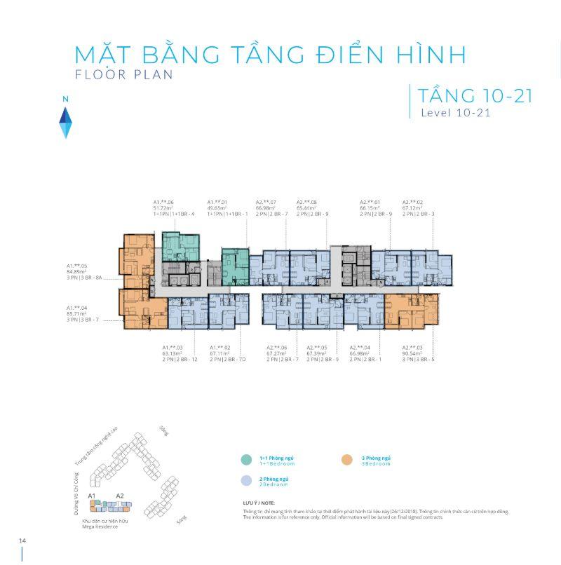 Mat bang tang 10 21 Safira Khang Dien - SAFIRA KHANG ĐIỀN