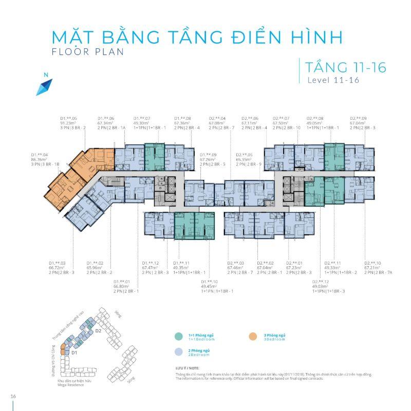 Mat bang tang 11 16 Safira Khang Dien - SAFIRA KHANG ĐIỀN