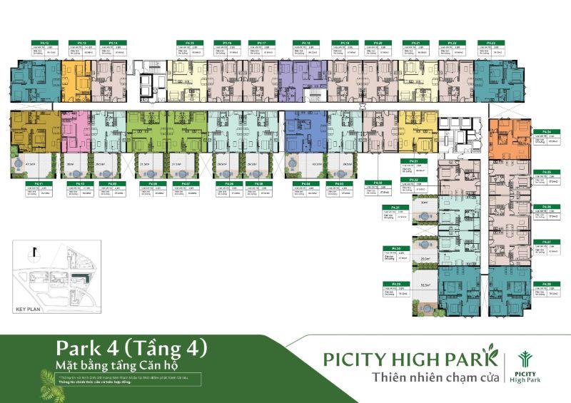 Mat bang tang 4 Park 4 can ho chung cu Picity High Park - PICITY HIGH PARK