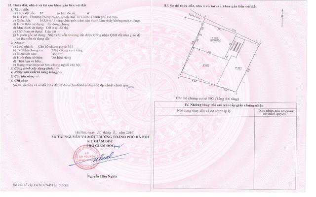 Noi dung cua giay chung nhan - Giấy chứng nhận quyền sử dụng đất quyền sở hữu nhà ở và tài sản khác gắn liền với đất