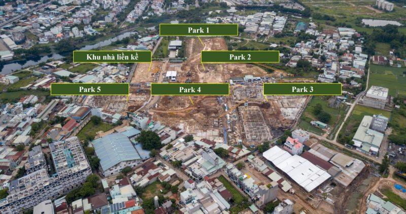 Picity High Park dự kiến sẽ hoàn thành vào quý I/ 2022