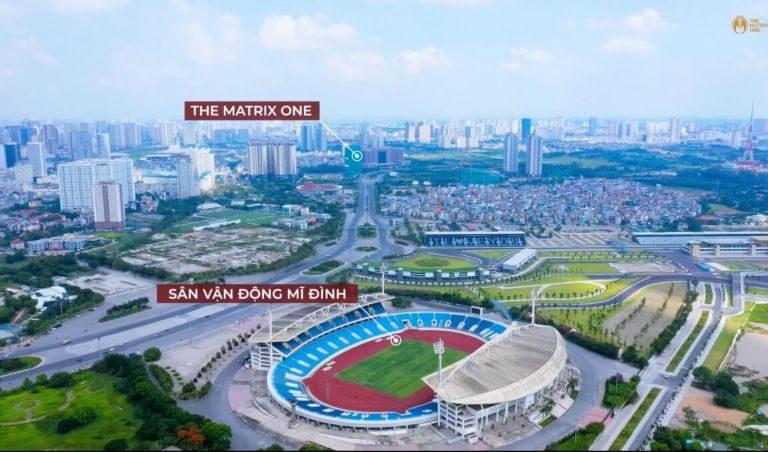 San-van-dong-My-Dinh-ket-noi-The-Matrix-One