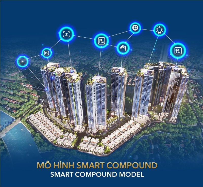 Sunshine City Sai Gon duoc thiet ke theo theo mo hinh smart compound - SUNSHINE CITY