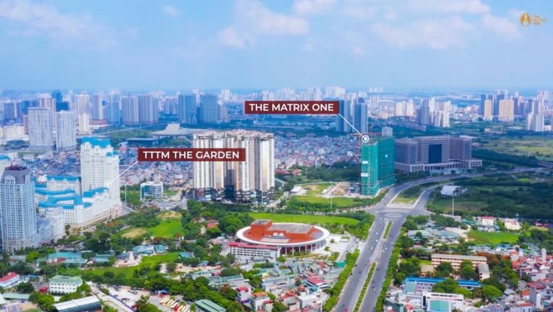 The Matrix One Lien ke du an la khu mua sam – vui choi giai tri The Garden - THE MATRIX ONE MỄ TRÌ