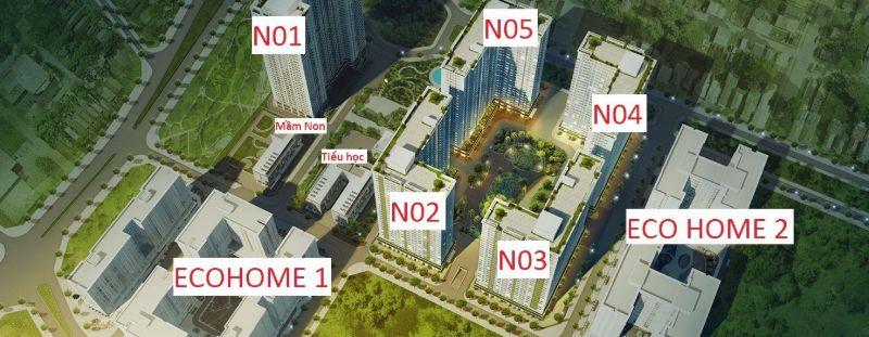 Tien ich ngoai khu Ecohome 3 - ECOHOME 3