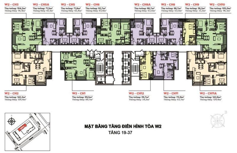 Toa West 2 co 452 can - VINHOMES WEST POINT