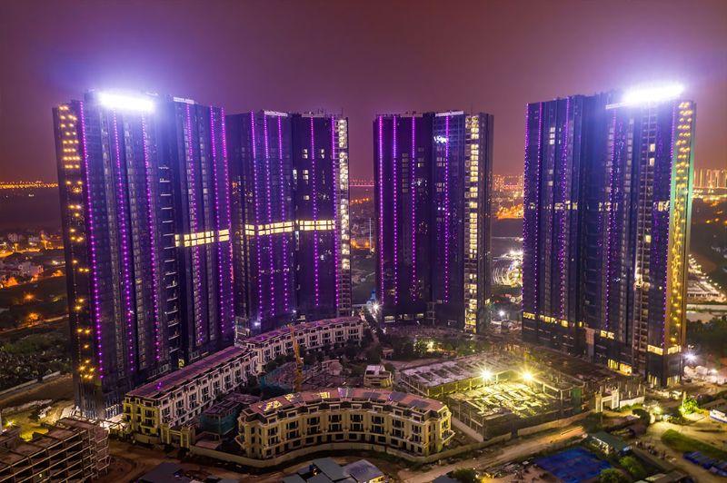 Tong dien tich Sunshine City Sai Gon len den 9 9 ha voi 9 toa thap xen ke nhau - SUNSHINE CITY