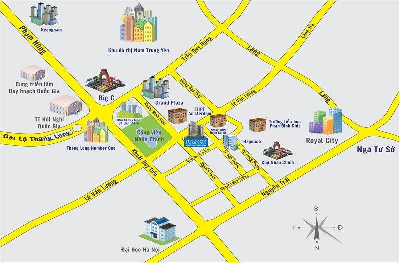 cu dan Royal City Ha Noi de dang ket noi voi moi khu vuc cua thanh pho - ROYAL CITY VINCOM MEGA MALL