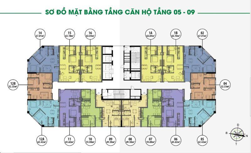 mat bang tang 5 9 toa hh1 - FLC ĐẠI MỖ (FLC GARDEN CITY)