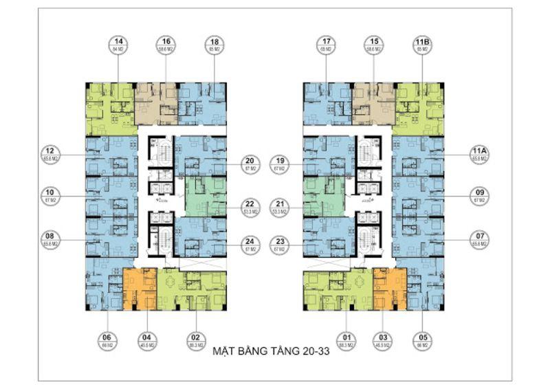 tang 20 33 hh3 flc garden city - FLC ĐẠI MỖ (FLC GARDEN CITY)