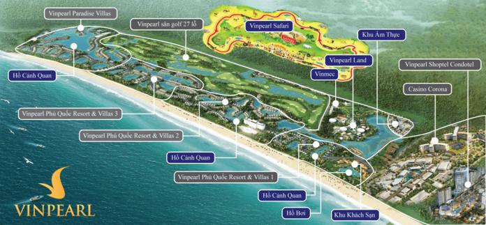 Chuoi tien ich noi khu dang cap chi co tai sieu du an Grand World Phu Quoc - Grand World Phú Quốc | Tiến Độ & Đánh Giá Mới Nhất 2021