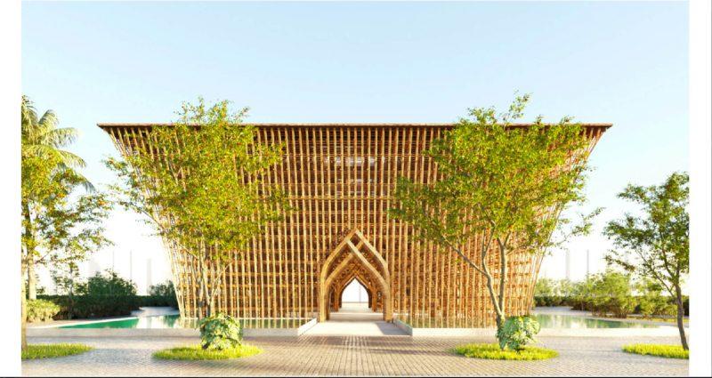 Công trình tre biểu tượng Grand World Phú Quốc