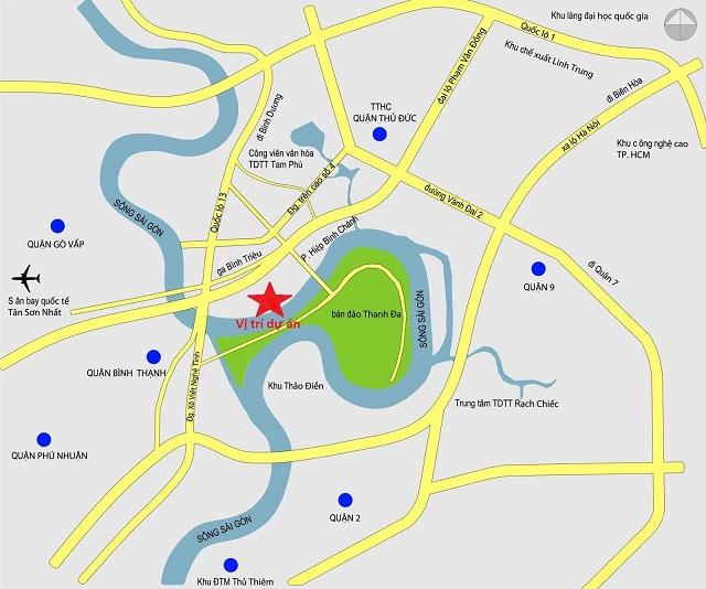 Giao thong du an bao boc chang chit - Chung cư Opal Garden